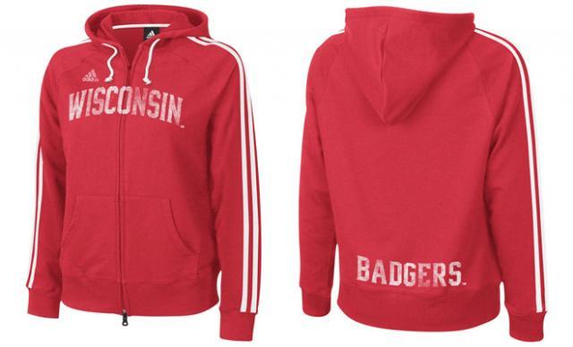 Widen Digital Sample of Wisconsin Badgers Sweatshirt