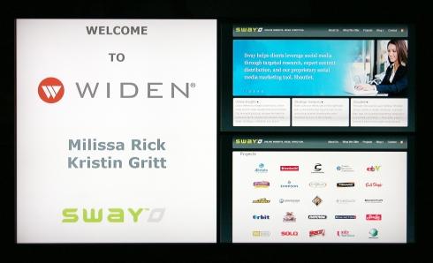 Widen Welcomes Sway