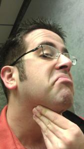 Movember 2012 - Nick Jimenez - Day 01