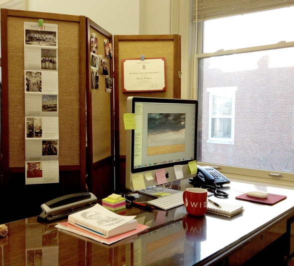 Kevin Powell workspace