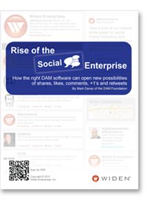 Rise of the Social Enterprise: How the right DAM software can open new possibilities of shares,  likes, comments, +1's and retweets