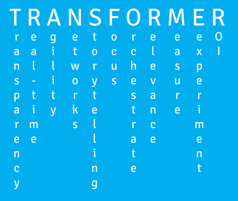 TRANSFORMER acronym for the modern CMO