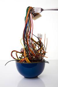 Computer spaghetti - DAM comes in many flavors