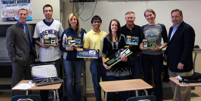 Widen and Learning Encounters teamed up to provide Monona Grove High School with astronomy equipment
