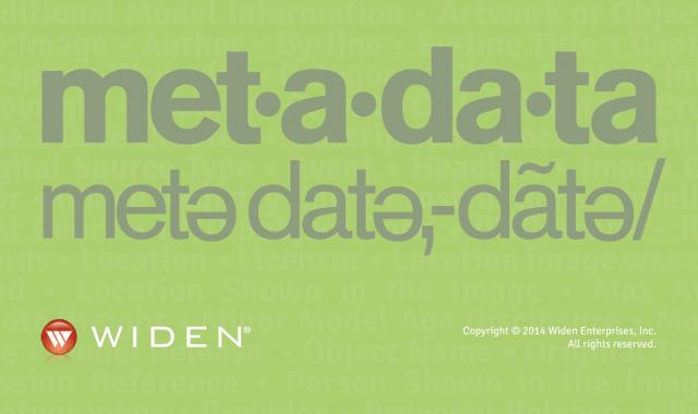 Metadata Quick Start