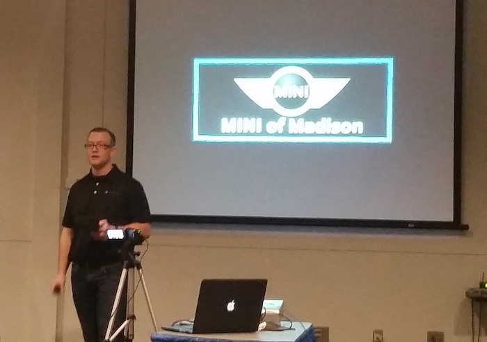 Jake Athey at AMA Madison Conference