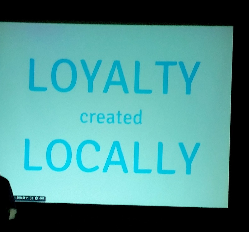 Loyalty Created Locally