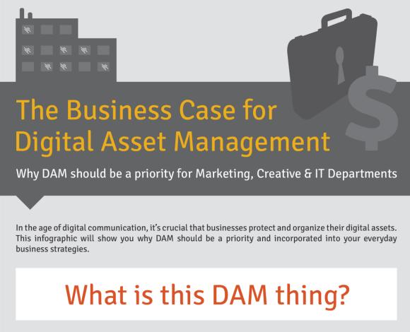 Business Case for Digital Asset Management [Infographic]