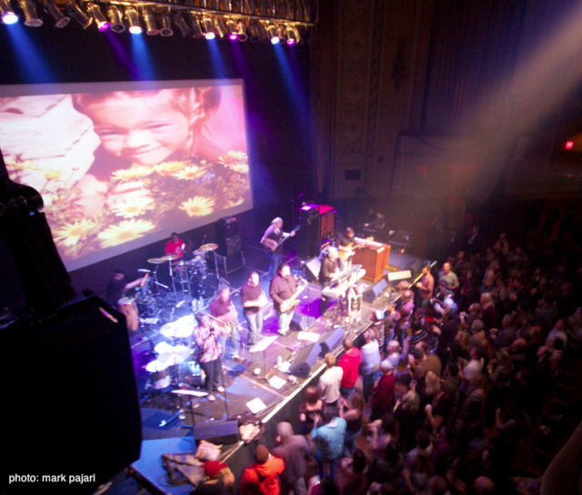 Funk Out Cancer - 20-Nov-2010 at the Orpheum Theatre, Madison
