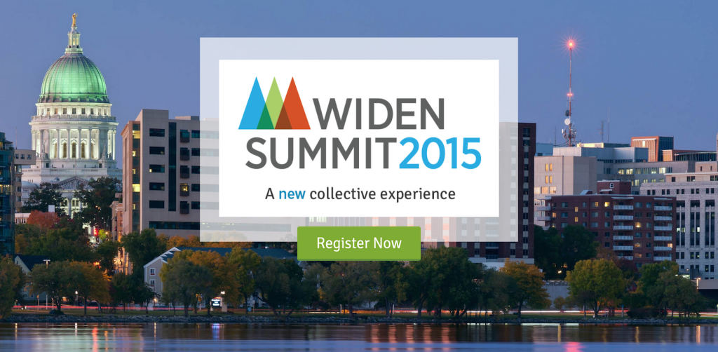 Registration is open for the 2015 Widen Summit