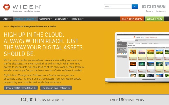 Digital Asset Management Software as a Service