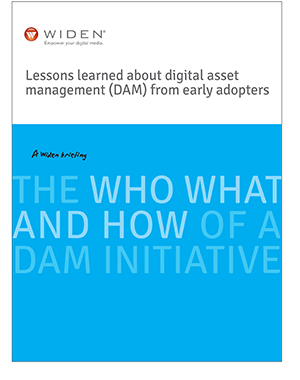 Lessons learned about digital asset management (DAM) from early adopters