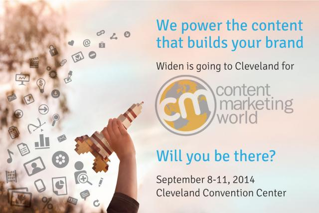 Widen is going to Content Marketing World. Are you?