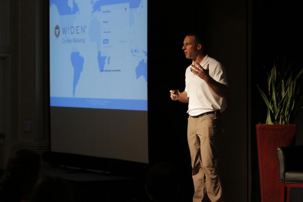 Matthew Gonnering keynote at 2014 Widen User Summit