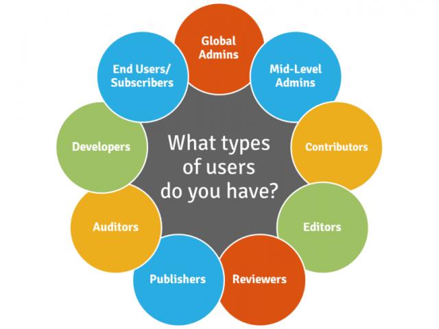 Kinds of Digital Asset Management Users