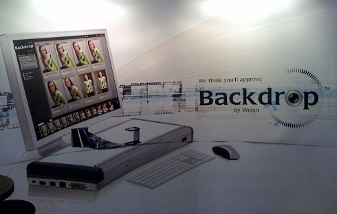 Backdrop Booth at Photo Plus Expo