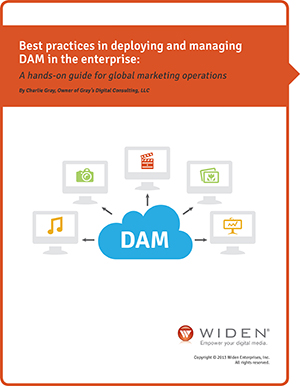 Best practices in deploying and managing DAM in the enterprise