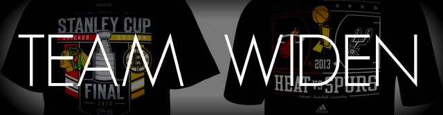 Widen NHL NBA T-Shirts