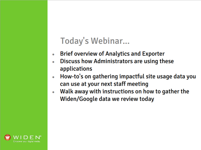 Analytics Breakdown Webinar