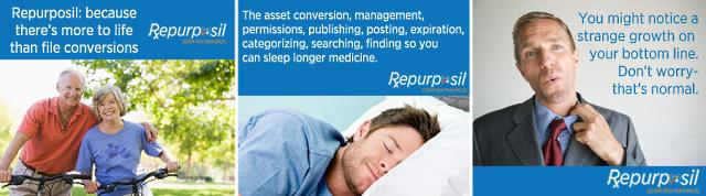 Repurposil banner ads