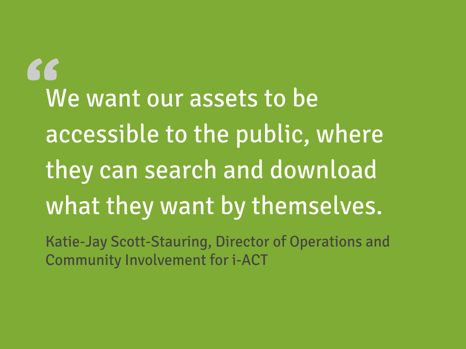 Customer quote from i-Act