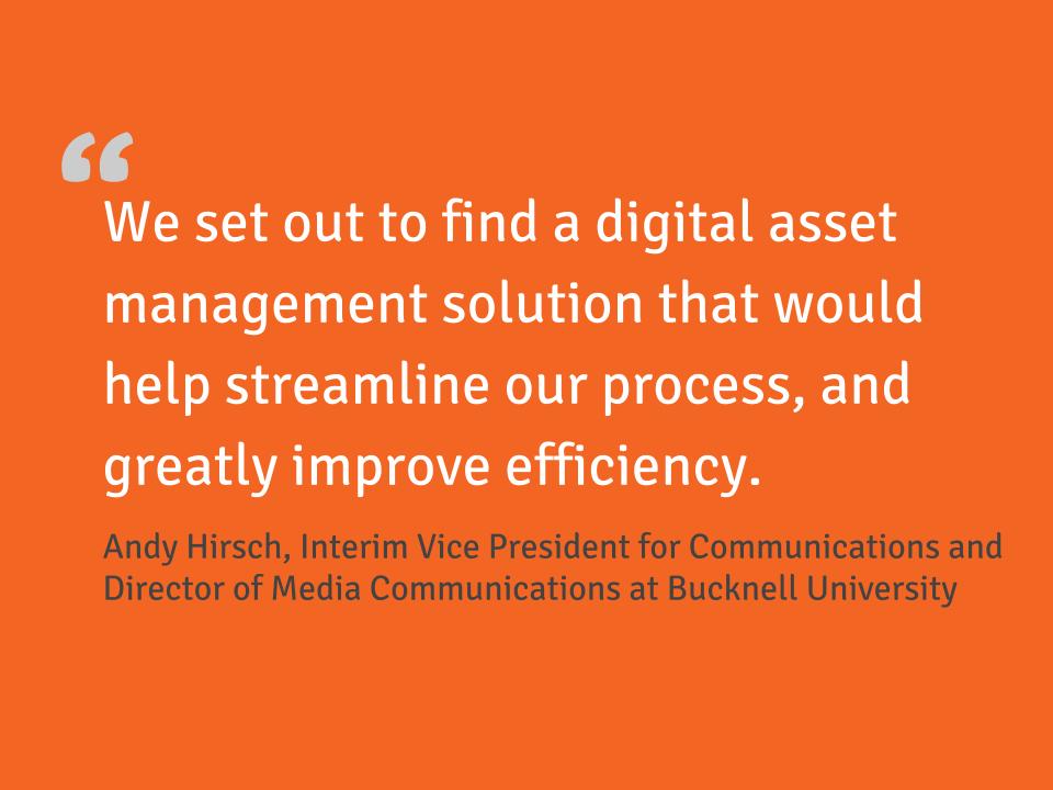 Customer quote Bucknell University