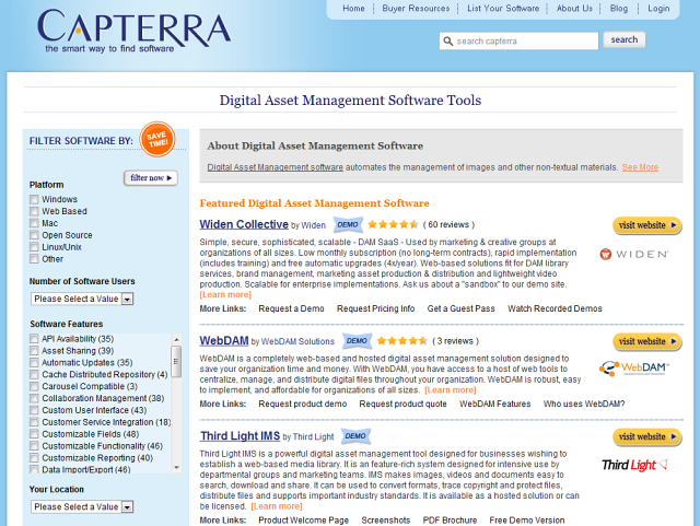 Digital Asset Management Software Reviews