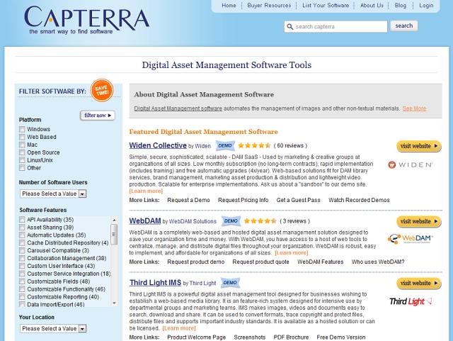 Digital Asset Management Software Reviews