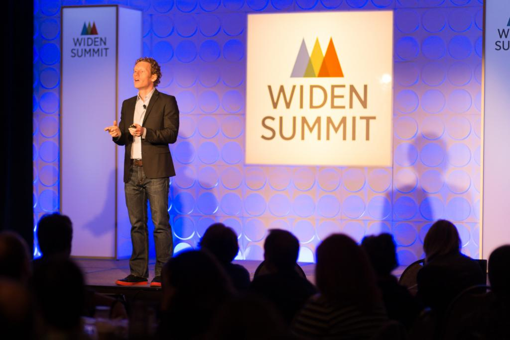 Jonah Berger at the Widen User Summit 2015