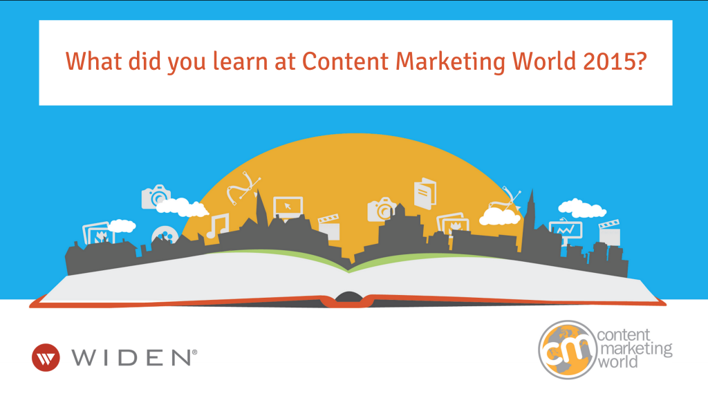What did you learn at Content Marketing World?