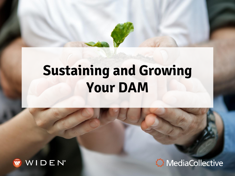 #WidenSummit Webinar: Sustaining and Growing Your DAM