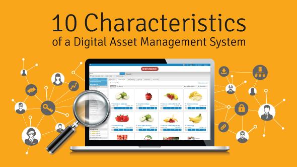 10 characteristics of a digital asset management system