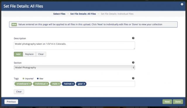 New Batch Apply Metadata Upon Upload