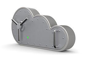 Cloud computing vault keep digital assets secure