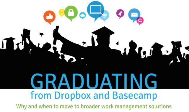 Graduating from Dropbox and Basecamp