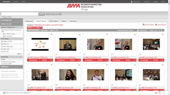 Business Marketing Association Chicago Digital Asset Library