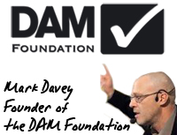 Mark Davey, founder of the DAM Foundation, will lead a webinar on digital asset management and content curation