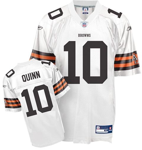 Brady Quinn Cleveland Browns Jersey