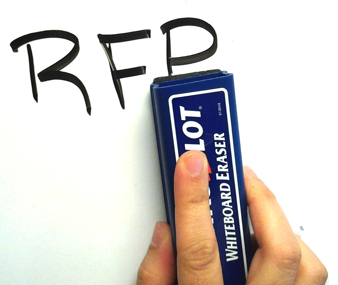 Whiteboard - RFP eraser