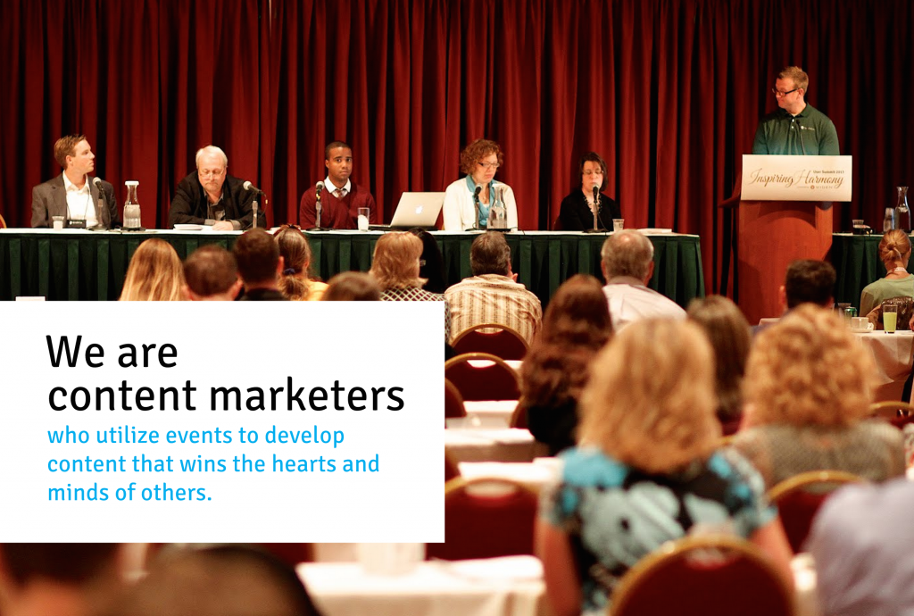 Content Marketing, Live Events & Digital Asset Management