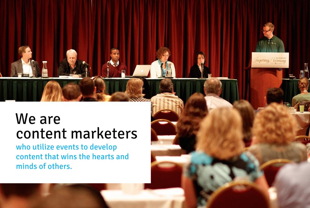 Content Marketing, Live Events & Digital Asset Management
