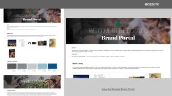 Bozzuto Brand Portals Design Example