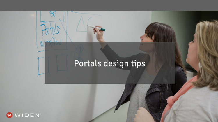 Brand Content Portals Design Tips