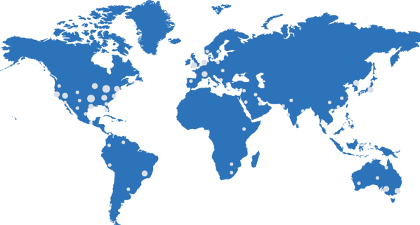 Collective User Map Blue