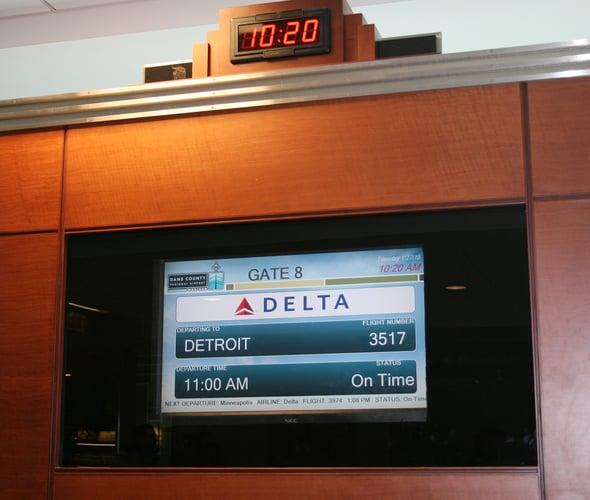 Depart Madison