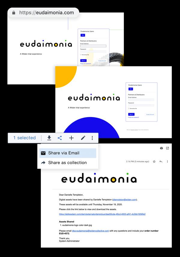 Branding features