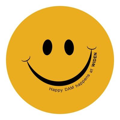 Happy DAM Happens at Widen Sticker_mr