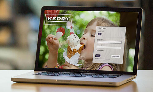 Kerry-DAM-System-Login-Page