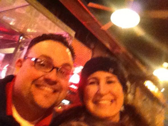 Nina Al selfie BBQ