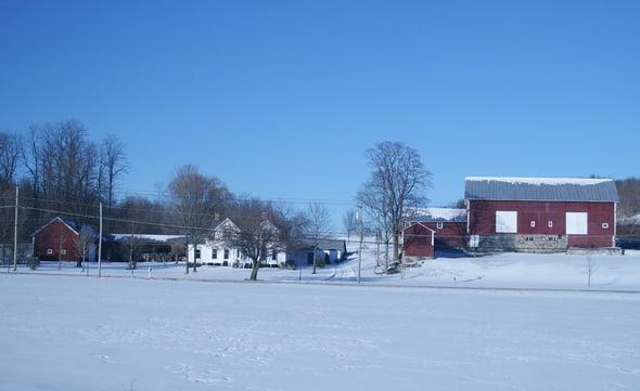 Syracuse countryside